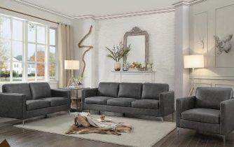 Modern 3 pc Upholstery sofa set